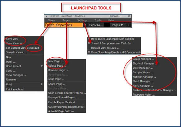 Launchpad Tools