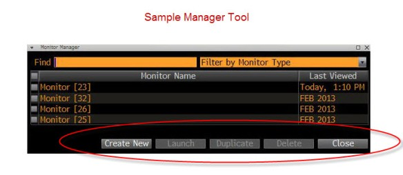 Sample Manager Tools