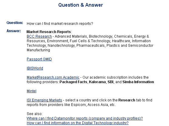 Just the FAQs Ma'am: Lippincott's Knowledge Database | Datapoints ...