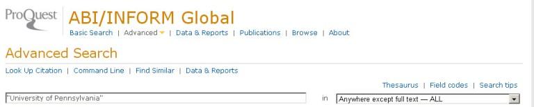 Harvard dissertations database