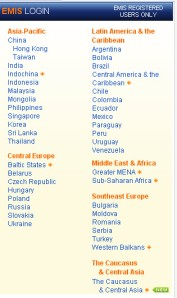 Emerging Market Country List