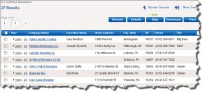 REFUSA beer list 2003