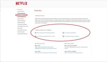 Netflix IR - 2