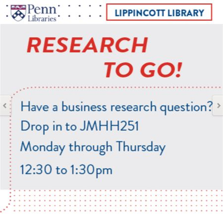 research topics datapoints a blog from the lippincott library  research to go have a question between classes us in huntsman hall we hold office hours every monday through thursday 12 30 1 30 in jmhh 251